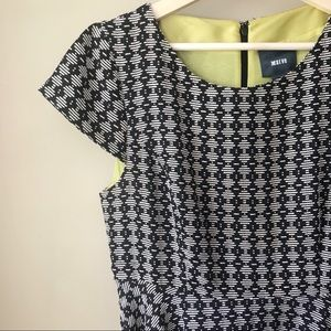 Anthropologie | Maeve | Cap Sleeve Geometric Dress